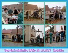 Stavění kříže - zkouška